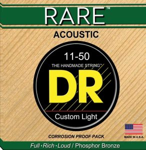 DR Rare RPML-11 Acoustic Guitar Strings