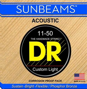 DR Sunbeams RCA-11 Acoustic Guitar Strings