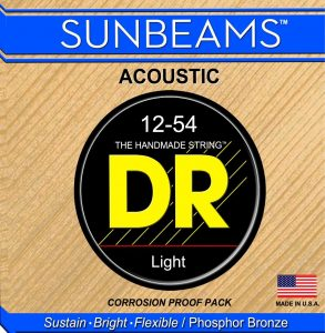 Dr Sunbeams RCA-12 Acoustic Guitar Strings