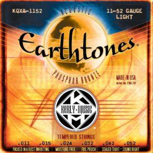 Earthtones Light 11-52 Acoustic Guitar Strings