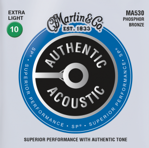 Martin Authentic acoustic MA530 Acoustic Guitar Strings