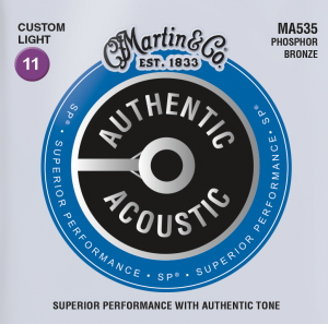 Martin Authentic Acoustic MA535 Acoustic Guitar Strings